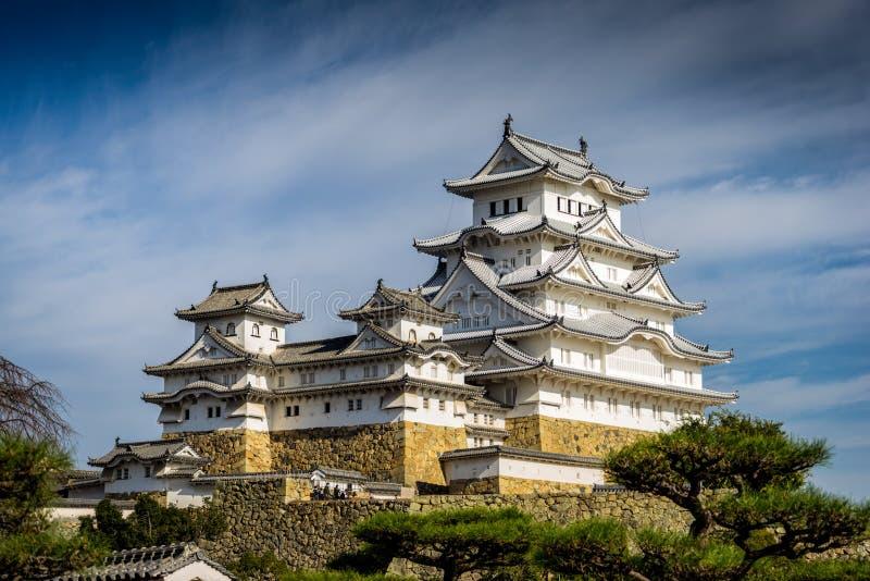 Himeji kasztel w Japonia UNESCO obraz stock
