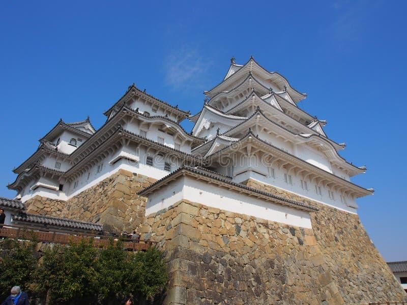 Himeji kasztelu Hyogo Japonia podróż obrazy royalty free