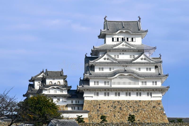 Himeji slott i November 2018 arkivfoton