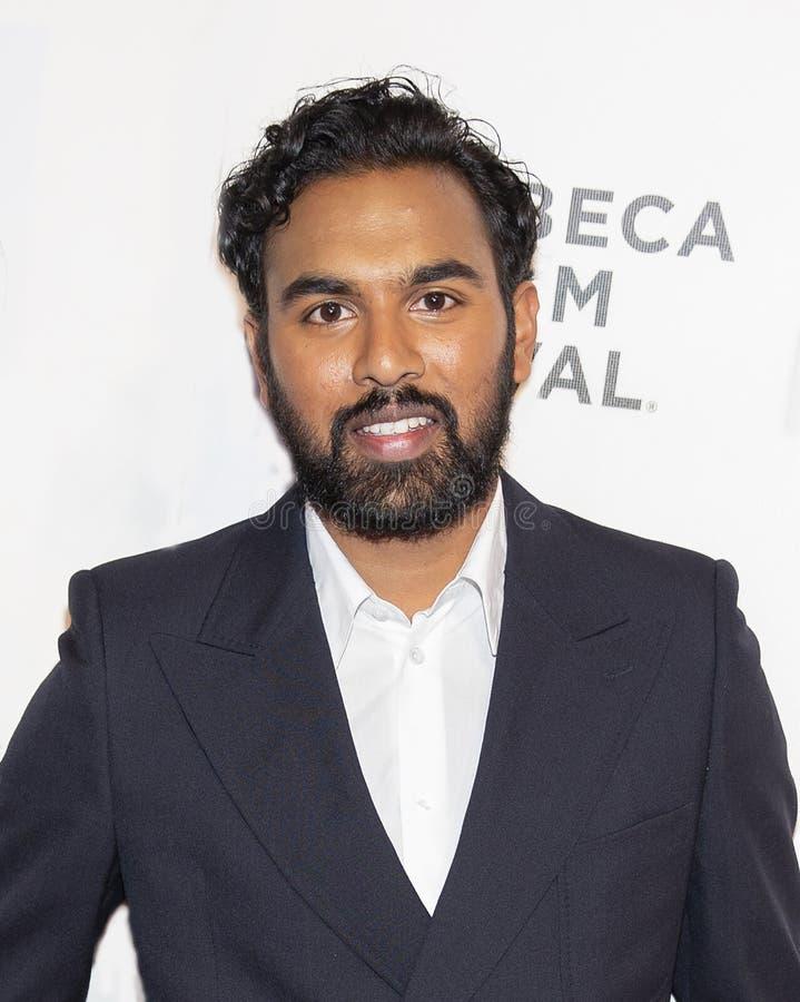 Himesh Patel przy ?wiatowa premiera przy 2019 Tribeca festiwalem filmowym ?Wczoraj ? zdjęcie stock