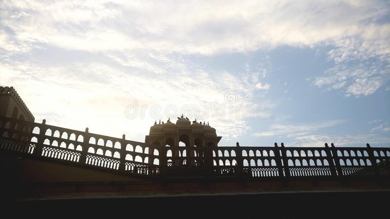 Himlar arkitektur, fort, skulptur, historia royaltyfria bilder