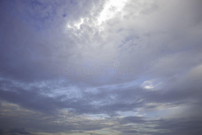Himlen är moln av mycket royaltyfri foto