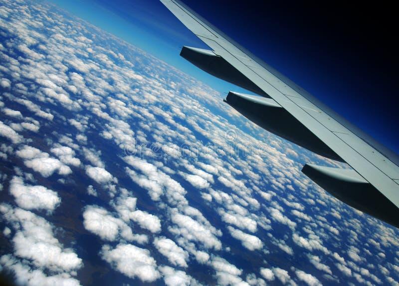 Himmel über der Wolke lizenzfreie stockfotografie