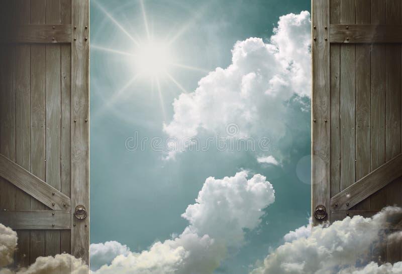 himmel royaltyfria bilder