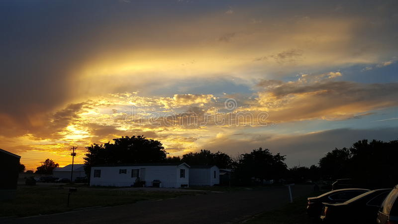 himmel lizenzfreie stockfotografie