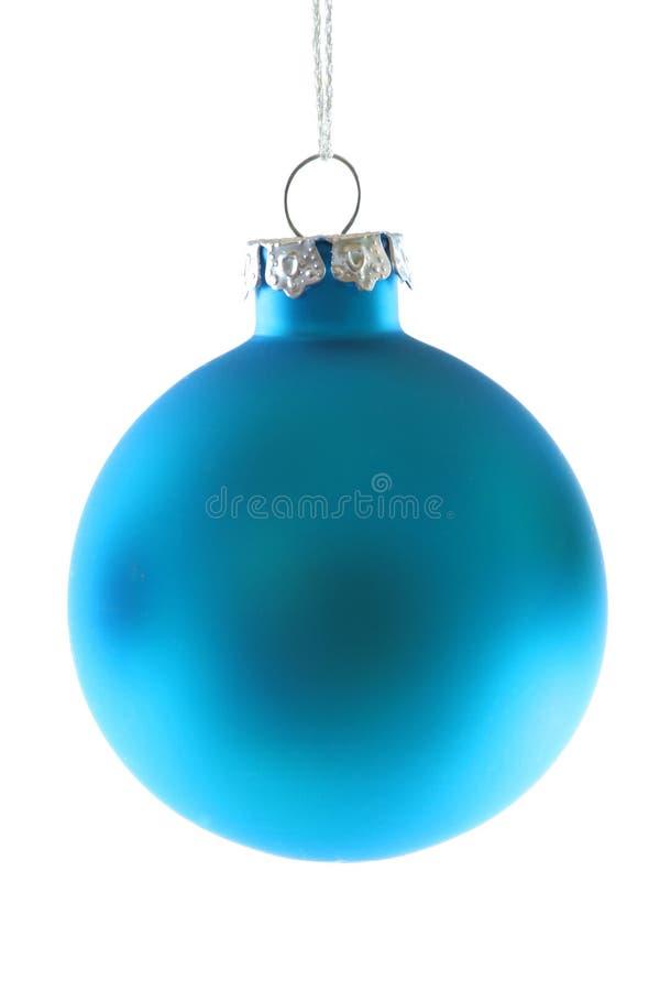 Himmel-Blau-Weihnachtsverzierung lizenzfreie stockfotografie