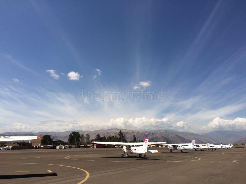Himmel der Wüste von nasca lizenzfreie stockfotografie