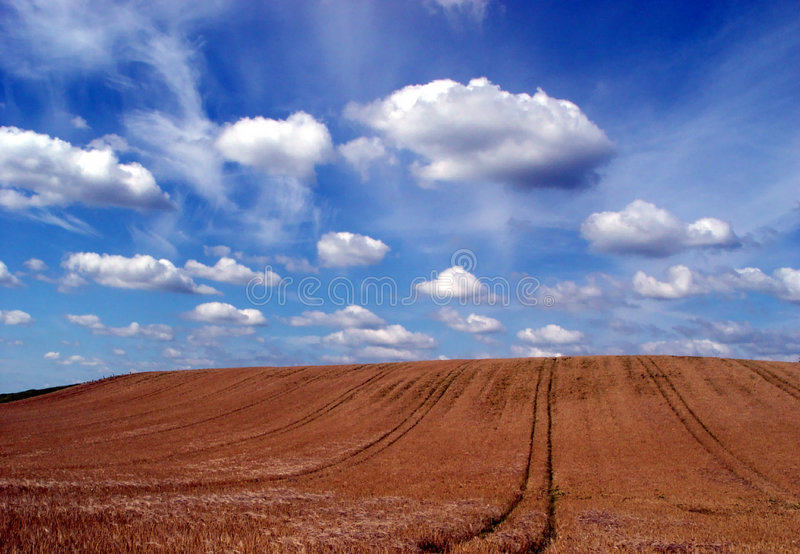 Himmel + Erde stockfotografie