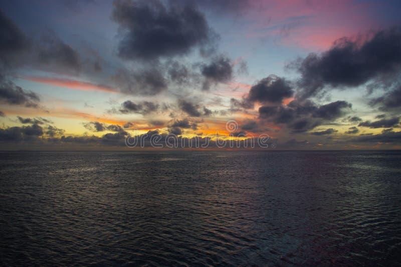 Himmel färgar II arkivbild