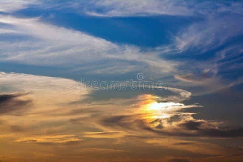 Himmel-Hintergrund stockfotografie