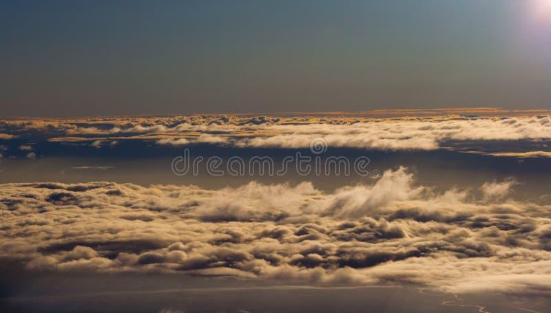 Himmel in Marokko stockfoto