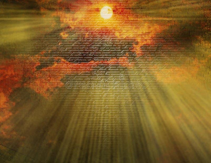 Himmel mit neuem Testament lizenzfreie stockbilder