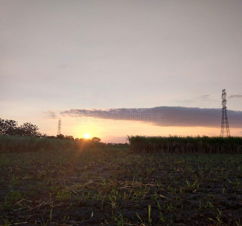 Himmel-Morgen lizenzfreie stockfotografie