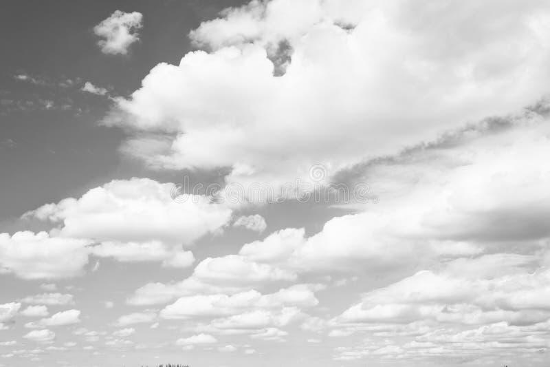 Himmel och vit fördunklar i miami, USA Cloudscape på bakgrund för blå himmel Väder och natur Frihets- och drömbegrepp fotografering för bildbyråer
