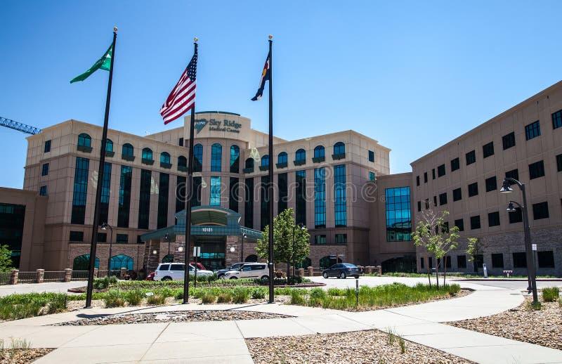 Himmel Ridge Medical Center stockfotografie