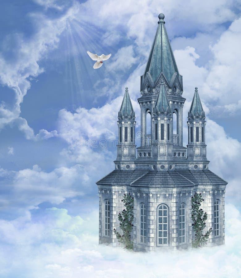 himmel s för 4 port stock illustrationer