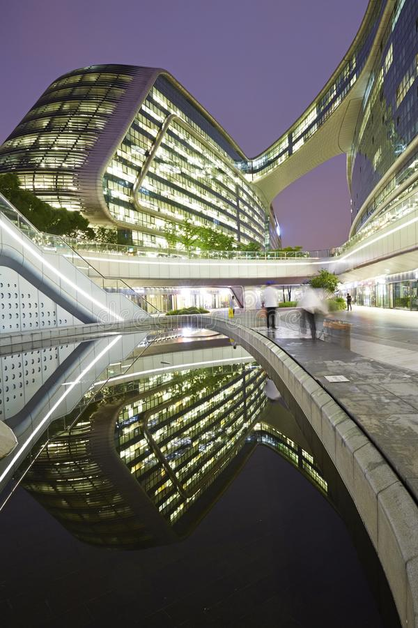 Himmel SOHO, Shanghai, China lizenzfreie stockfotografie