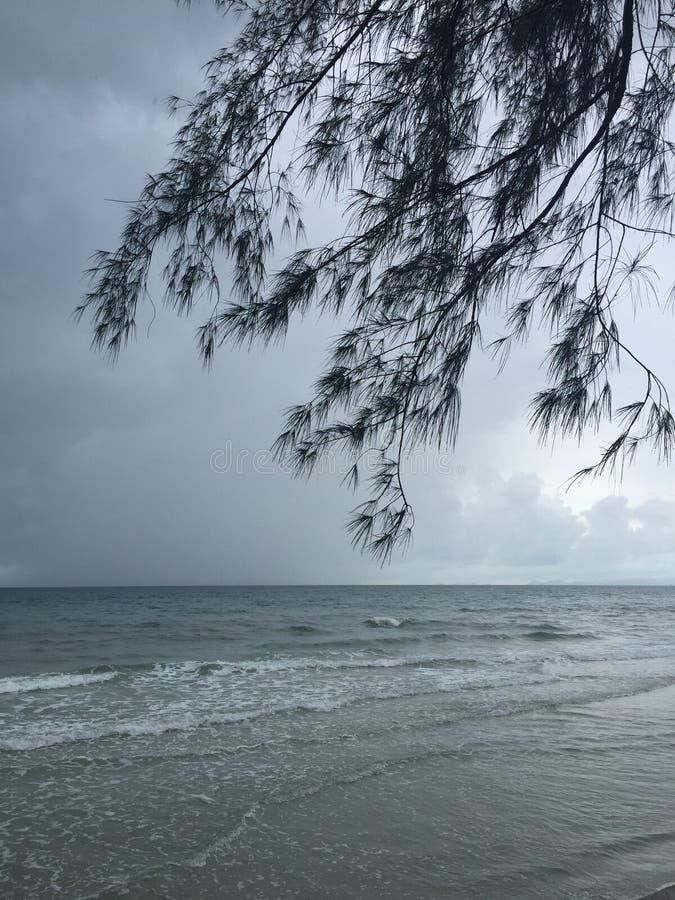 Himmel und Meer stockfotos