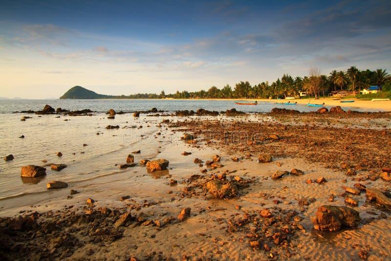 Himmel und Meer, Chumphon Provinz, Thailand. stockfoto