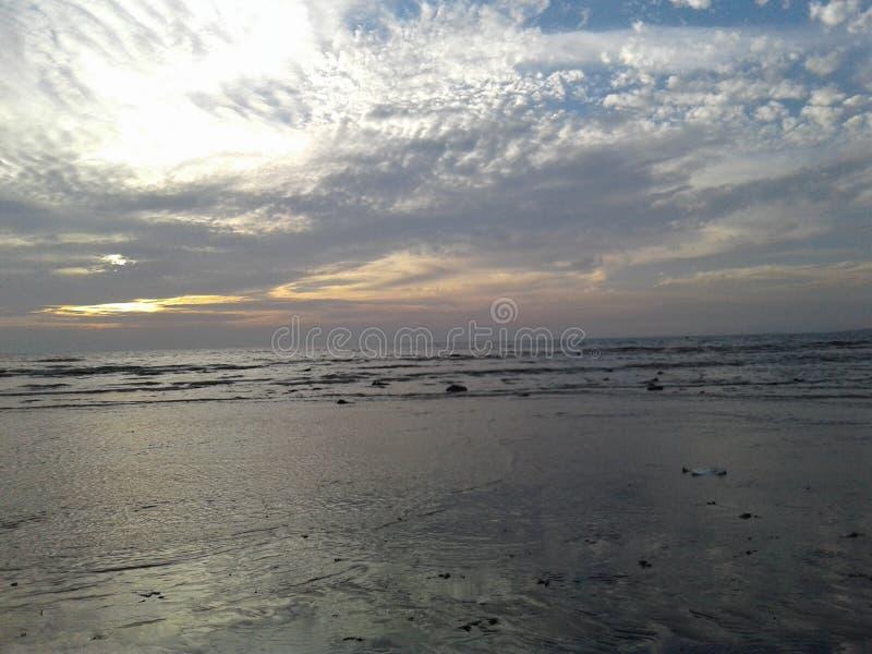 Himmel und Ozean stockbilder