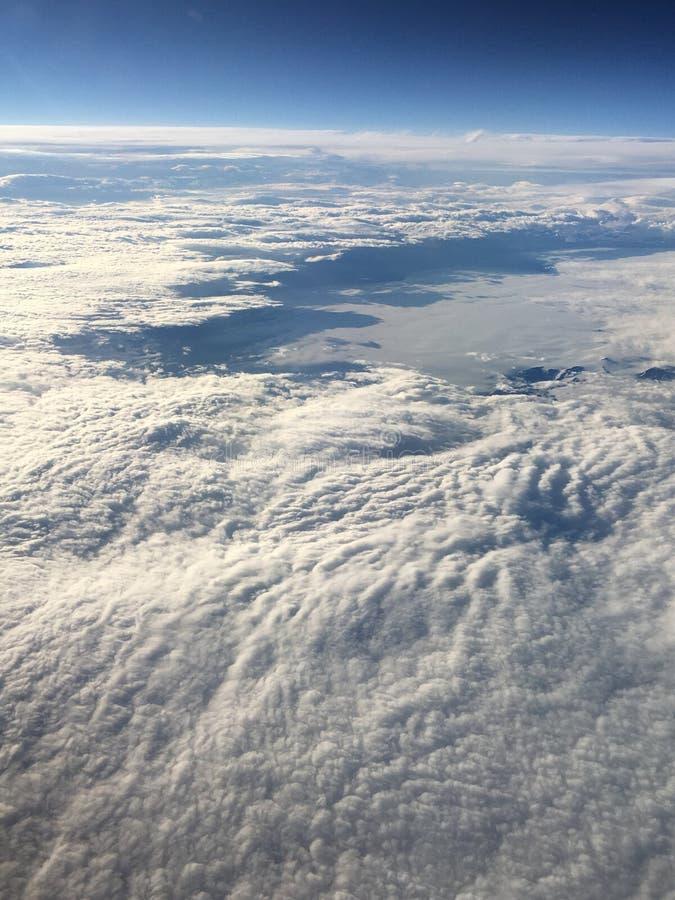 Himmel von oben stockfotografie