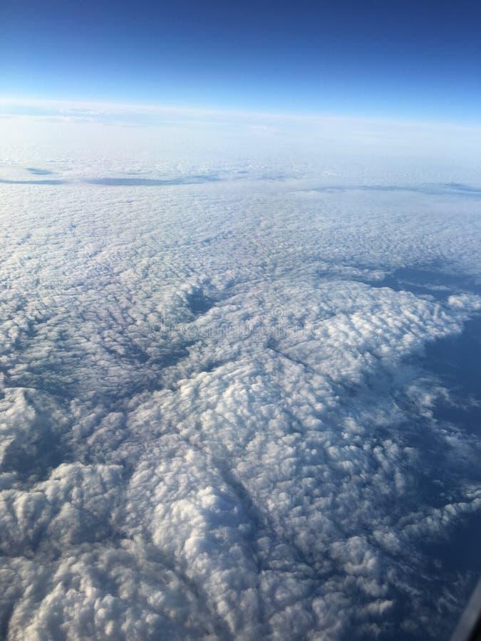 Himmel von oben stockbilder