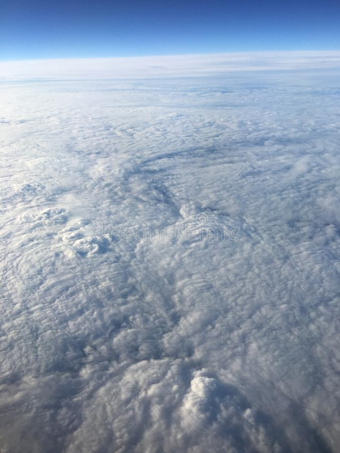 Himmel von oben lizenzfreie stockbilder