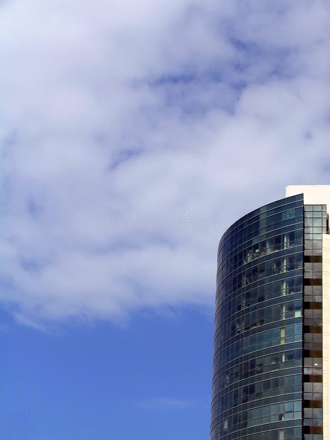 Himmel waagerecht ausgerichtetes Bussiness stockfotografie