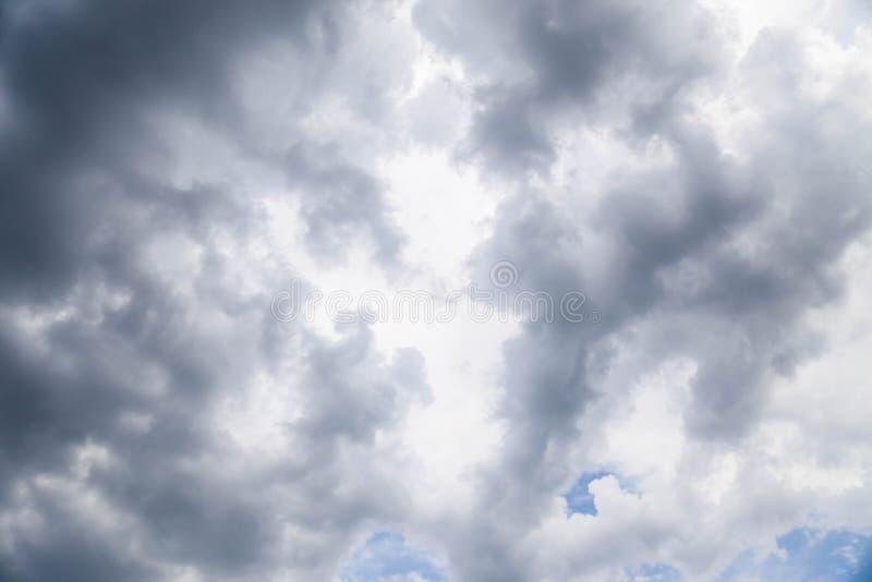 Himmelbakgrunden arkivfoto