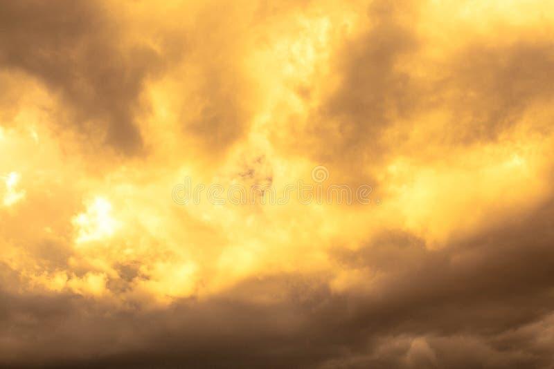 himmelfärg, bakgrund, solljus royaltyfri bild