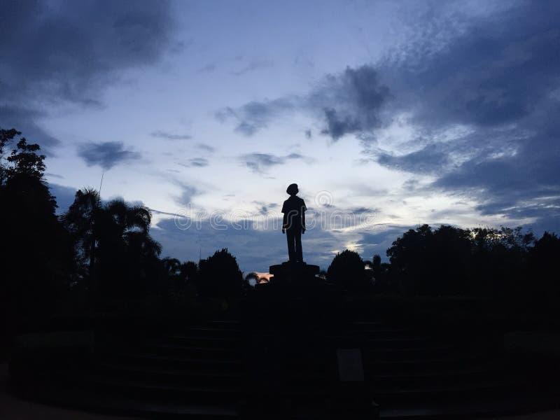 Himmelförälskelseträdgård arkivfoto