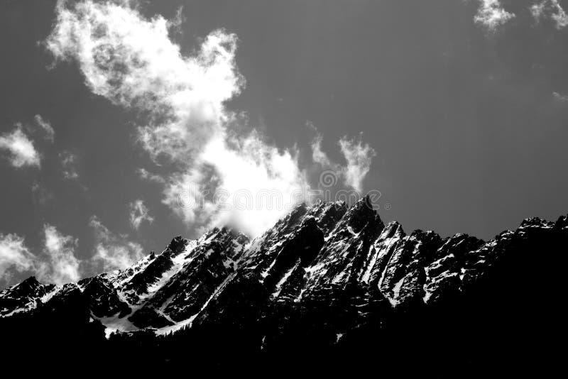 Himmelproppen arkivfoto