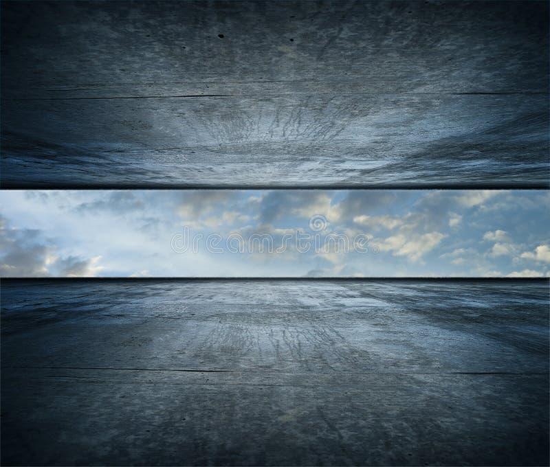 Himmelraum lizenzfreie stockfotos
