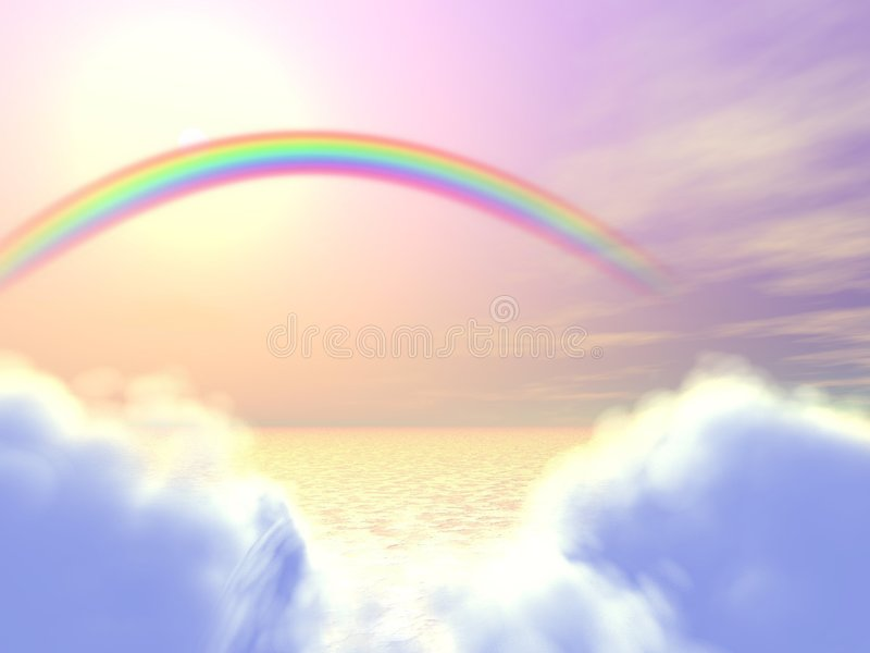 Himmels-Gatter lizenzfreie abbildung