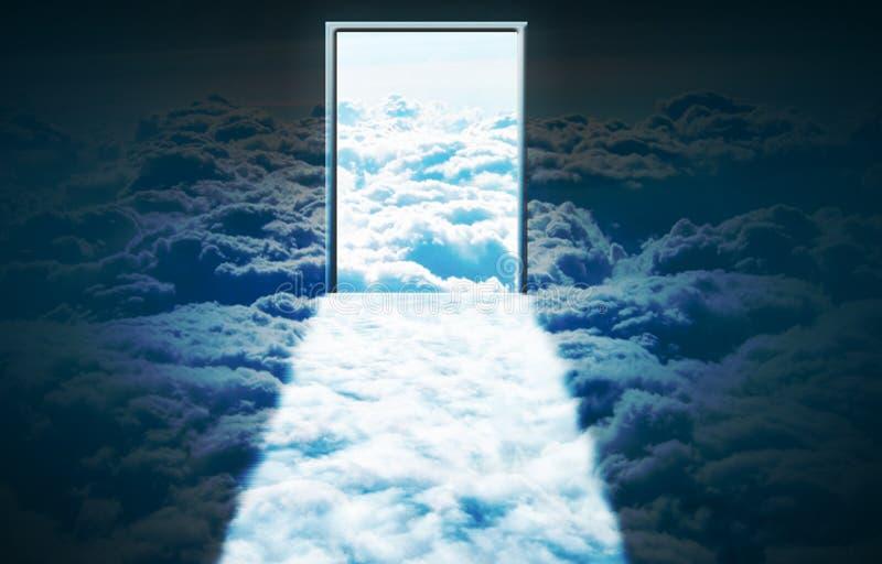 Himmels-Tür lizenzfreie abbildung