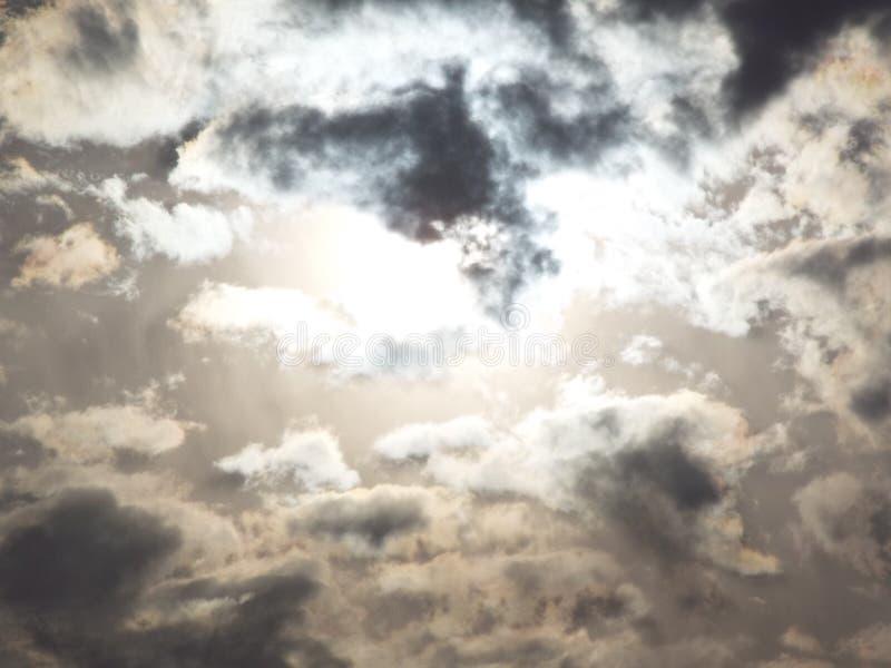 Himmelshimmel stockbild