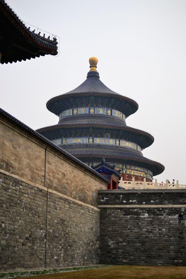 Himmelstempel, Tiantan-Park, in Peking CHINA lizenzfreie stockfotografie