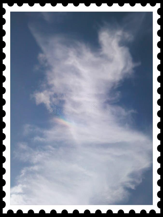 Himmelstempel wirklich lizenzfreie stockfotografie