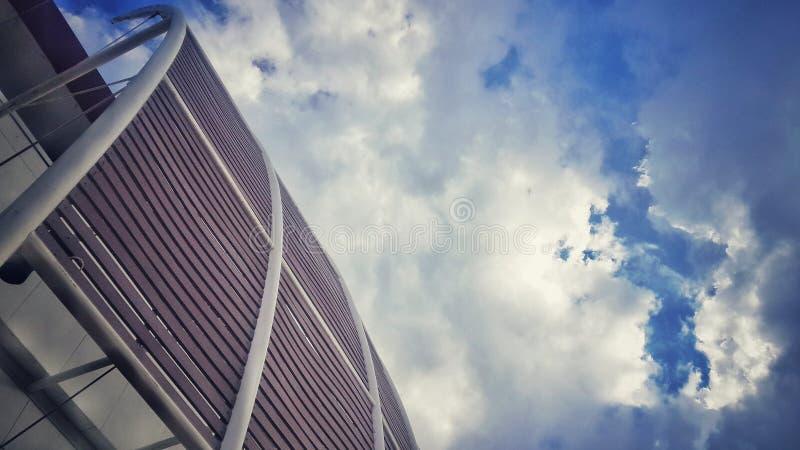Himmeltappningfoto royaltyfri fotografi