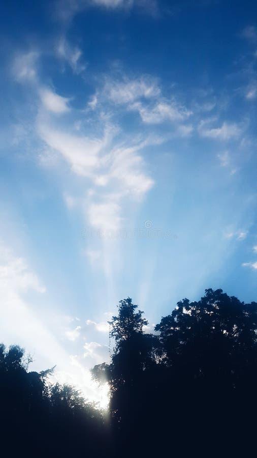 Himmeltextur och bakgrund royaltyfri fotografi