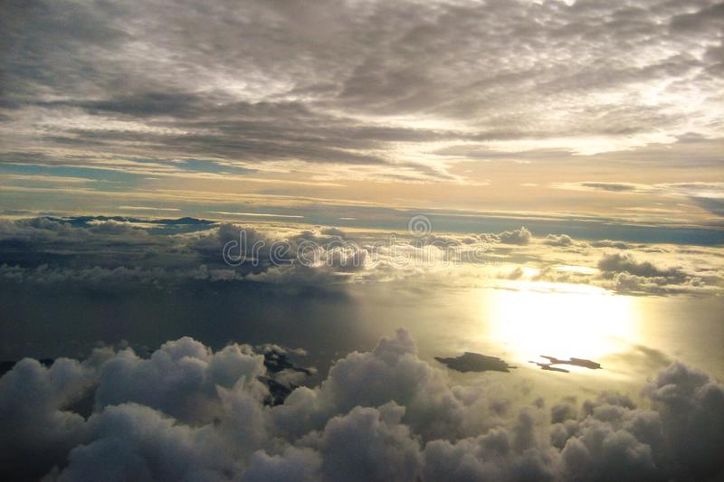 Himmlische Ansicht lizenzfreie stockbilder