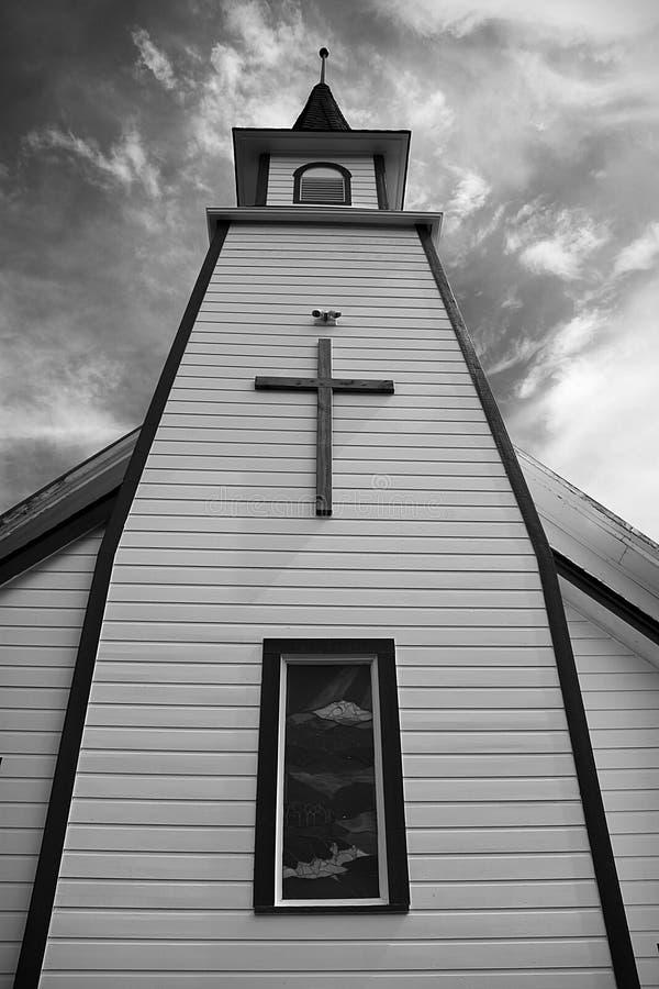 Himmlische Centerville Kirche stockbilder