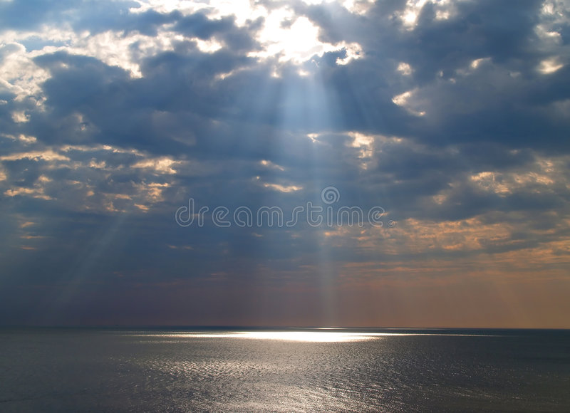 Himmlische Leuchte lizenzfreies stockfoto