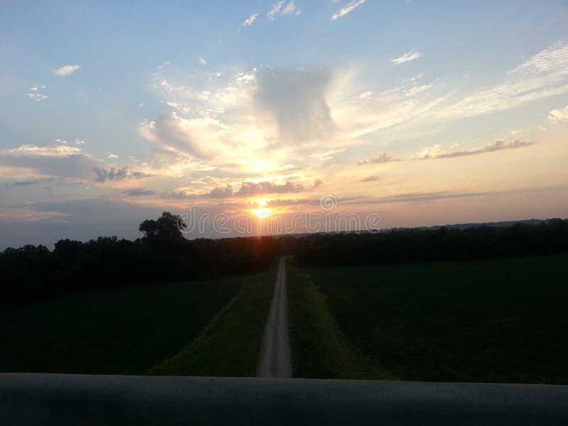 Himmlischer Sonnenaufgang lizenzfreie stockfotos