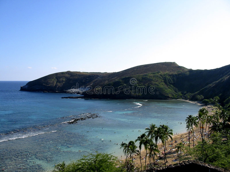 Himmlischer Strand lizenzfreies stockbild