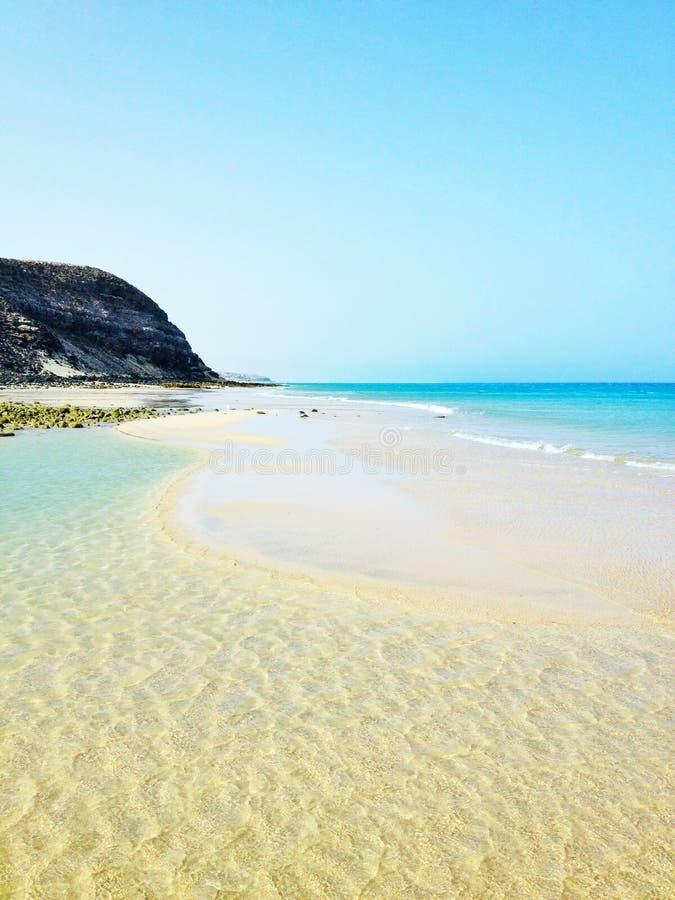 Himmlischer Strand lizenzfreie stockfotografie