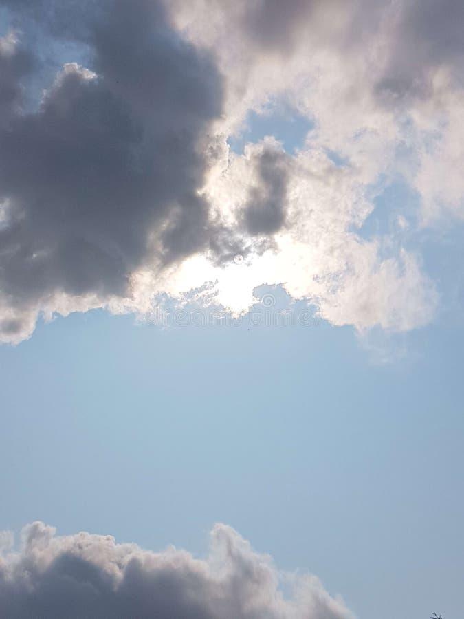 Himmlisches Blau lizenzfreies stockbild