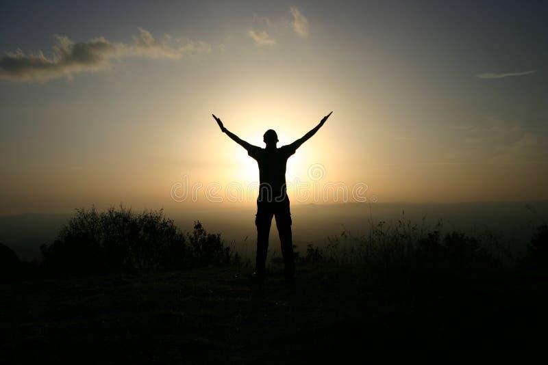Himno al sol fotografía de archivo libre de regalías