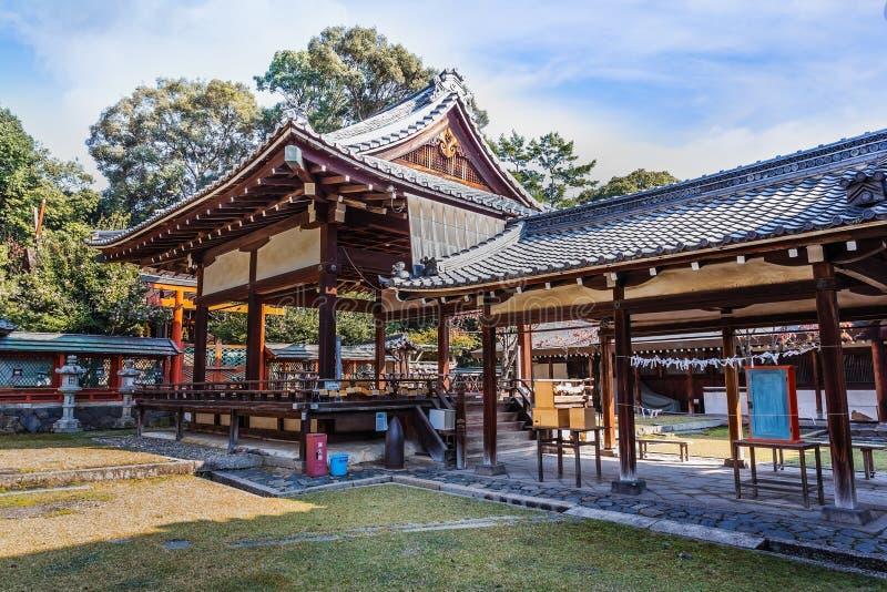 Himuro jinja寺庙在奈良 库存照片