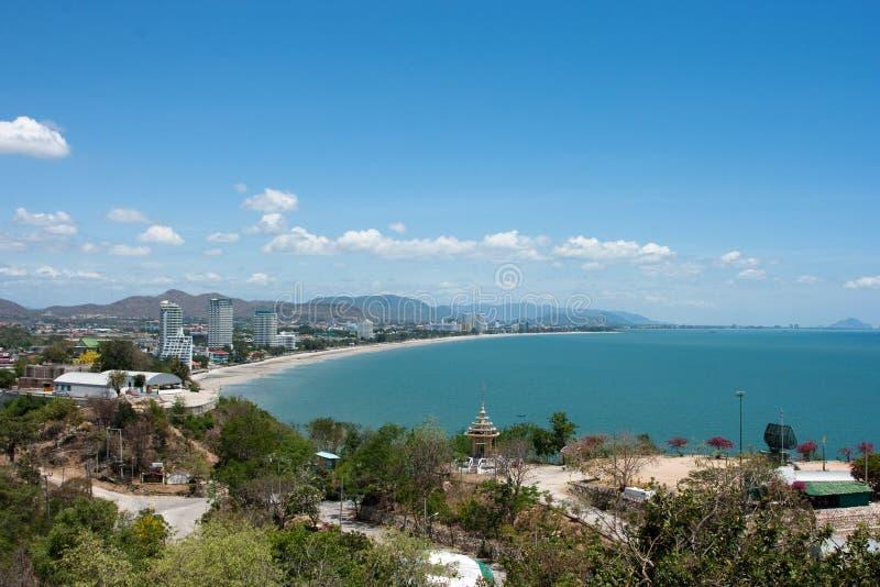 hin hua пляжа стоковая фотография rf